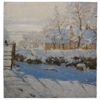 La empanada del La de la urraca de Claude Monet Servilletas