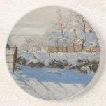 La empanada del La de la urraca de Claude Monet Posavasos Personalizados