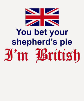 La empanada del pastor británico playeras