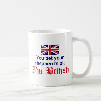 La empanada del pastor británico taza clásica