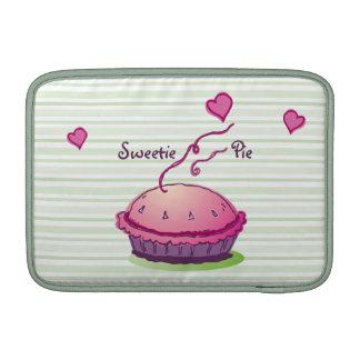 "La empanada del Sweetie raya 11"" horizontal Funda MacBook"
