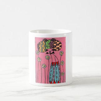 La emperatriz de la margarita taza de café