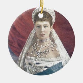 La emperatriz de la viuda de Rusia Adorno De Navidad