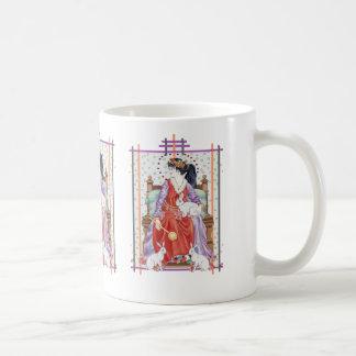 La emperatriz de Tarot Taza De Café