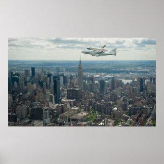 La empresa vuela sobre New York City Impresiones