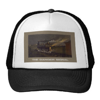 La eñal de peligro gorras