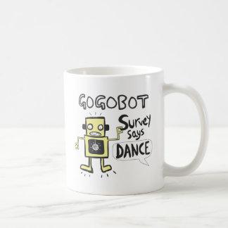 La encuesta dice danza taza de café