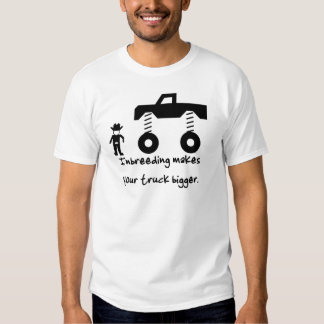La endogamia hace su camión más grande camisas