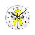 La endometriosis encuentra una cinta de la curació reloj
