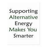 La energía alternativa favorable le hace más elega postales