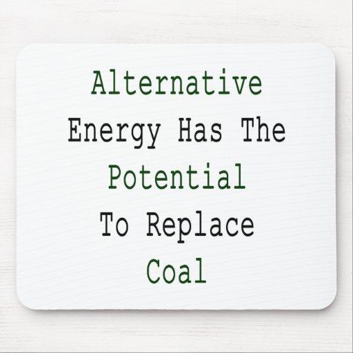 La energía alternativa tiene el potencial para sub alfombrilla de raton