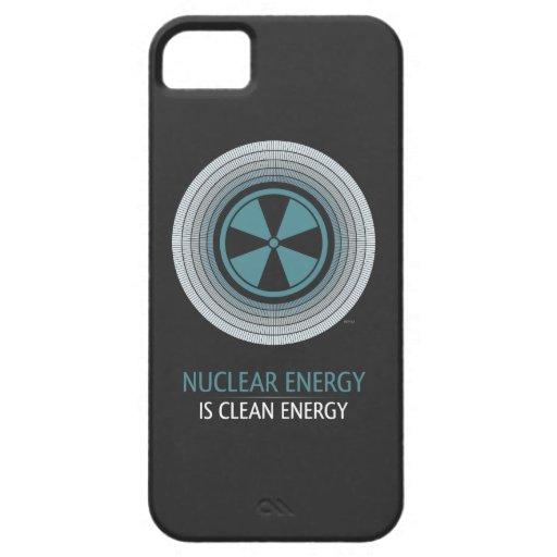 La energía nuclear es energía limpia iPhone 5 Case-Mate funda
