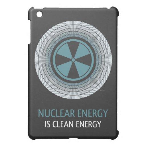 La energía nuclear es energía limpia iPad mini carcasa