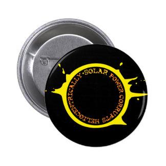 La energía solar corrompe heliocentrically pin