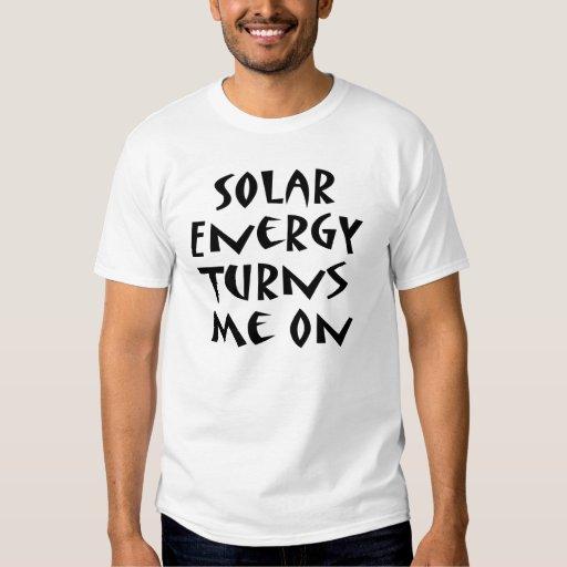 La energía solar me gira playeras