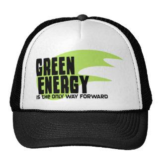 La energía verde es la única manera adelante gorra