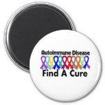 La enfermedad autoinmune encuentra una curación iman de nevera