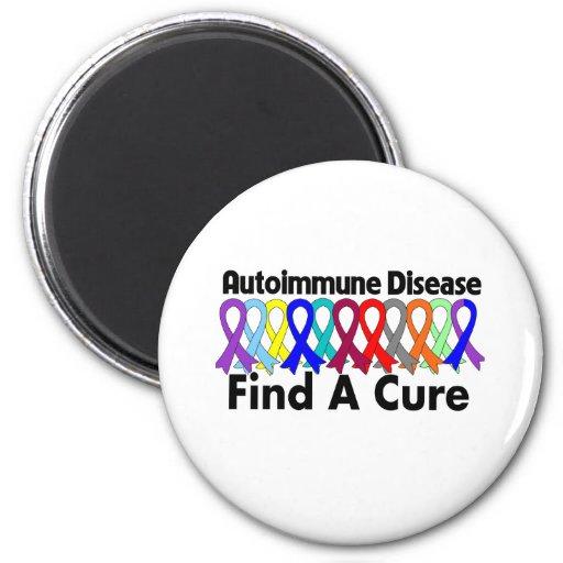 La enfermedad autoinmune encuentra una curación imán para frigorifico
