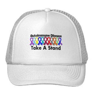 La enfermedad autoinmune toma un soporte gorras