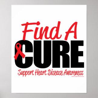 La enfermedad cardíaca encuentra una curación poster