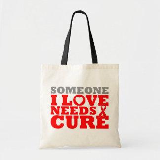 La enfermedad cardiovascular alguien amor de I nec Bolsas De Mano