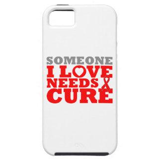 La enfermedad cardiovascular alguien amor de I nec iPhone 5 Case-Mate Cárcasa