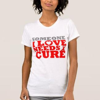 La enfermedad cardiovascular alguien amor de I nec Camisetas