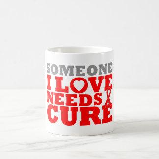 La enfermedad cardiovascular alguien amor de I nec Taza