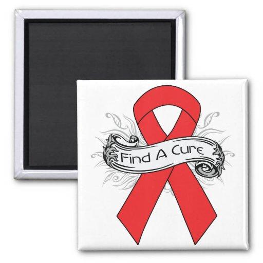 La enfermedad cardiovascular encuentra una cinta d iman de frigorífico
