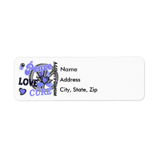 La enfermedad de Addison de la curación 2 del amor Etiqueta De Remite