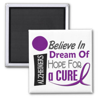 La enfermedad de Alzheimer CREE ESPERANZA IDEAL Imán Cuadrado