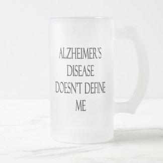 La enfermedad de Alzheimer no me define Taza De Café