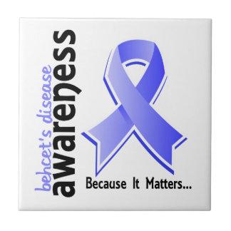La enfermedad de Behcet de la conciencia 5 Azulejos