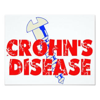 La enfermedad de Crohn del tornillo Anuncios Personalizados
