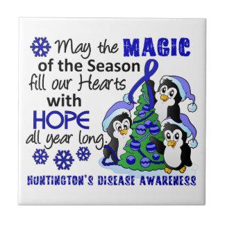 La enfermedad de Huntington de los pingüinos del n Azulejo Cerámica