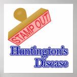 La enfermedad de Huntington Poster