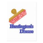 La enfermedad de Huntington Tarjeta Postal