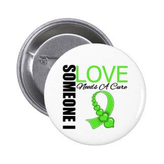La enfermedad de Lyme alguien amor de I necesita u Pin Redondo 5 Cm