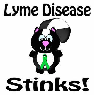 La enfermedad de Lyme apesta diseño de la concienc Escultura Fotografica