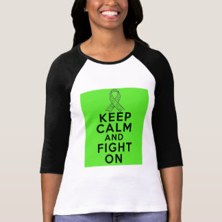 La enfermedad de Lyme guarda calma y sigue Camiseta