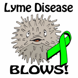 La enfermedad de Lyme sopla diseño de la concienci Esculturas Fotograficas