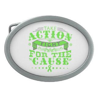 La enfermedad de Lyme toma la lucha de la acción p Hebilla De Cinturon