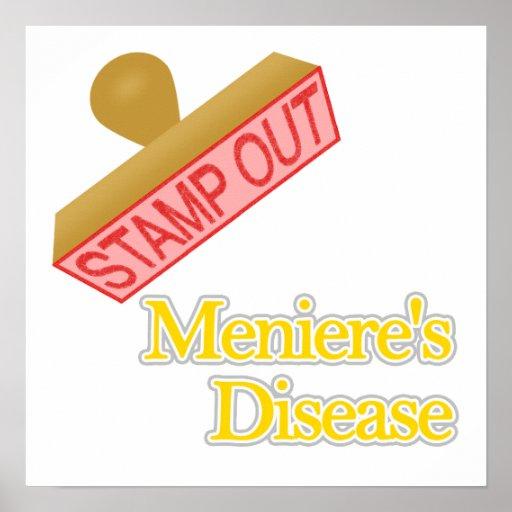 La enfermedad de Meniere Poster