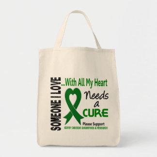 La enfermedad de riñón necesita una curación 3 bolsa tela para la compra