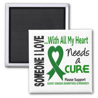 La enfermedad de riñón necesita una curación 3 imán cuadrado