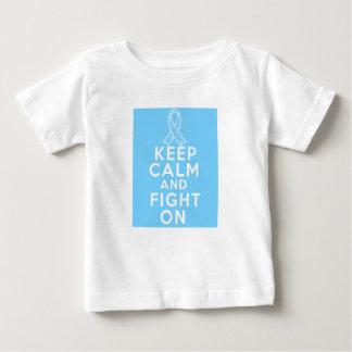 La enfermedad de tiroides guarda calma y sigue tshirts