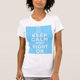 La enfermedad de tiroides guarda calma y sigue tee shirt