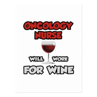 La enfermera de la oncología… trabajará para el postales