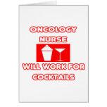La enfermera de la oncología… trabajará para los c tarjetas