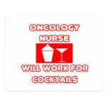 La enfermera de la oncología… trabajará para los c tarjeta postal